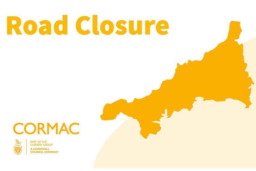 Cormac road closure notification map