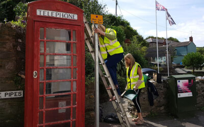 Millbrook's Telephone Box Renovation