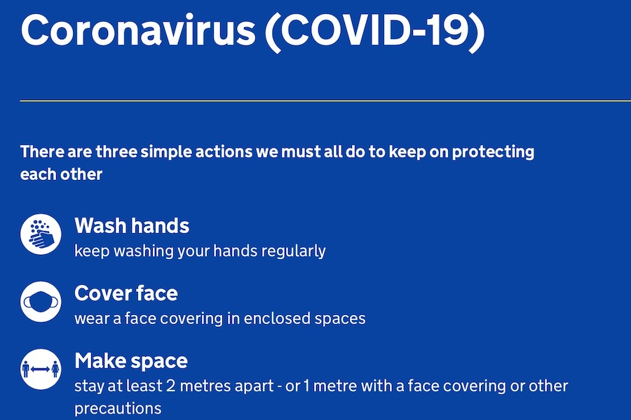 COVID GUIDANCE POSTER