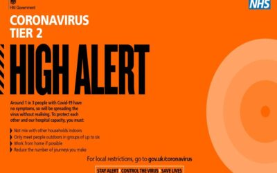 Covid-19 Tier 2 High alert