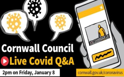 Corwall Council COVID Q&A session on Facebook Live
