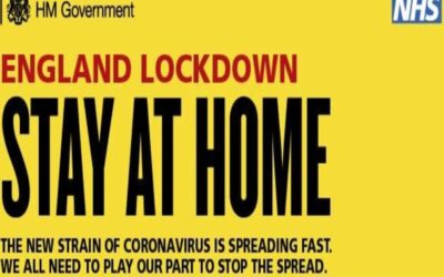 National Lockdown – Stay at Home
