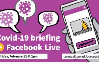 Cornwall Council Covid-19 facebook live