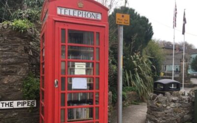 Millbrook payphone kiosk