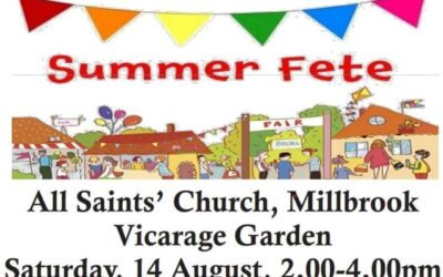All Saints Church Summer Fete – 14th August @ 2pm