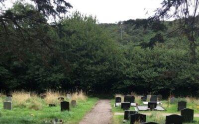 Millbrook Graveyard extension of path